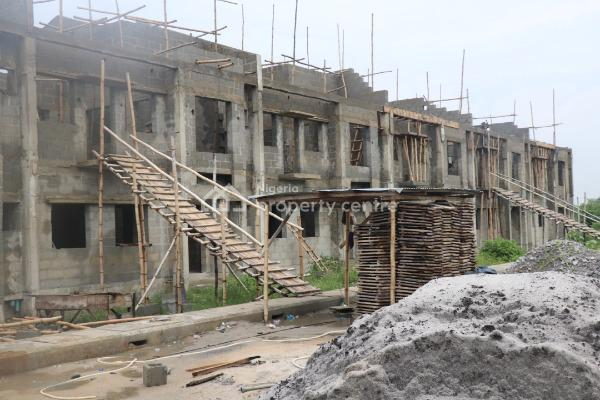 4 Bedroom Luxury Terraces with Maid Rooms, Along The Tarred Monastery Road, Behind Novare Shoprite, Sangotedo, Ajah, Lagos, Terraced Duplex for Sale