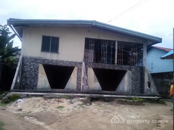 Well Located Four (4) Bedroom Detached Duplex, Nung Udoe Ibesikpo, Uyo, Akwa Ibom, Detached Duplex for Sale