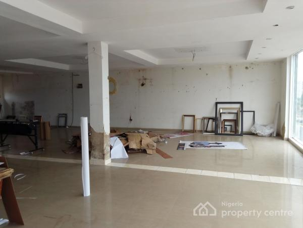 Serviced Shop, 60 Square Meters with Generator, Ademola Adeokunbo, Wuse 2, Abuja, Plaza / Complex / Mall for Rent