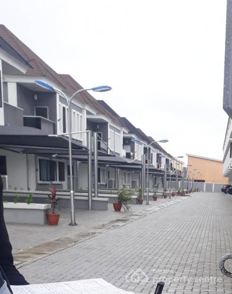 2 Bedroom Serviced  Terrace Duplex, Victoria Iii, 4 Mins From Orchid Hotel, Lafiaji, Lekki, Lagos, Terraced Duplex for Sale