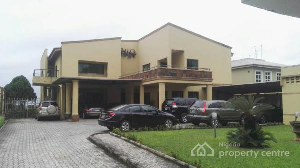 Waterfront an Exquisitely Designed Mansion of a 9 Bedroom Fully Detached House with 5 Sittings Rooms Etc, Vgc, Lekki, Lagos, Detached Duplex for Sale