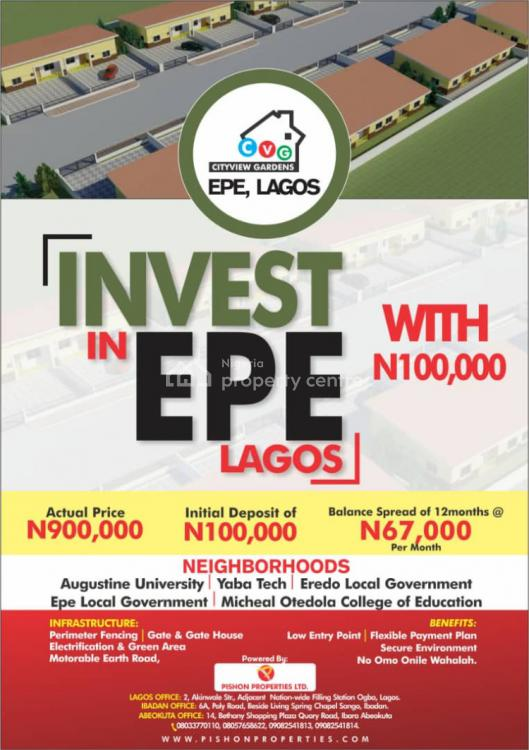 Land, City View Gardens, Epe, Lagos, Mixed-use Land for Sale