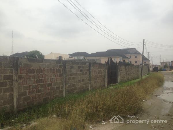 Fenced and Gated 1138 Sqm of Land, Around Whitesands School, Lekki Phase 1, Lekki, Lagos, Residential Land for Sale
