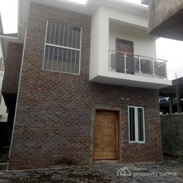 Brand New Well Finished 3 Bedroom Detached Duplex with Bq and Fitted Kitchen, Lekki Phase 1, Lekki, Lagos, Detached Duplex for Rent