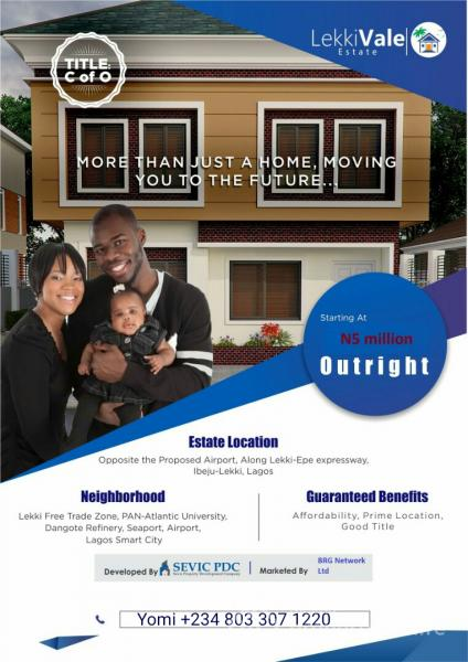 Land with C of  O, Opposite Proposed Lekki Int. Airport, Ibeju Lekki, Lagos, Mixed-use Land for Sale