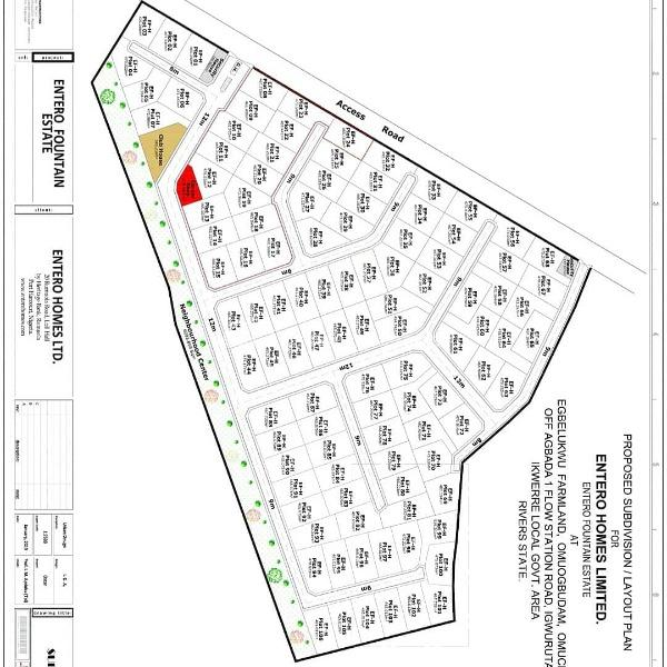 Buy a Plot From Entero Paradise and Get a Free Flat Screen Tv!, Airport-omagwa Axis, Omagwa, Port Harcourt, Rivers, Residential Land for Sale