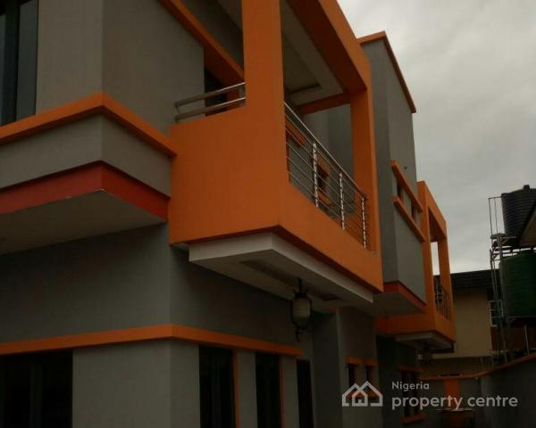 Newly Built 2 Wings of 4 Bedroom Duplex, Ogba, Ikeja, Lagos, Detached Duplex for Sale