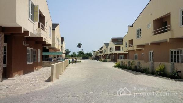 3 Bedroom Terraced Duplex (carcass), Phase 4, Lekki Gardens Estate, Ajah, Lagos, Terraced Duplex for Sale
