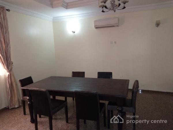 Fully Furnished and Serviced 3 Bedroom Block of Flats  with Servant Quarters, Off Aminu Kanu Crescent, Wuse 2, Abuja, Flat for Rent