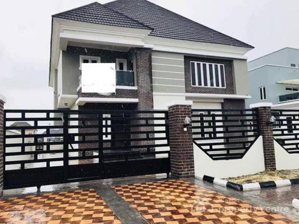 5 Bedrooms Fully Detached House, Pinnock Beach Estate, Osapa, Lekki, Lagos, Flat for Sale