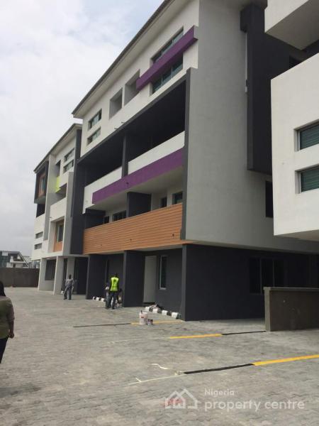 Brand-new 4 Bedroom Maisonette Plus Bq, Richmond 2, Ikate Elegushi, Lekki, Lagos, Terraced Duplex for Rent