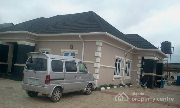 Executive 5 Bedroom Bungalow Plus a Room Bq and Security House in a Serene Environment, Near Synagogue Church, Egbe, Lagos, Detached Bungalow for Sale