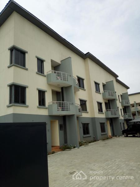 Brand New Tastefully Finished 24 Hours Serviced 4 Bedroom Terrace House with a Room Bq, with Fully Fitted Kitchen and Serene, Ikate Salem, Ikate Elegushi, Lekki, Lagos, Terraced Duplex for Rent