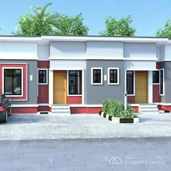 Two Bedroom Terrace Bungalow, Off The on-going 4 Lane, Ikorodu - Epe Expressway, Agbowa, Ikorodu, Lagos, Terraced Bungalow for Sale