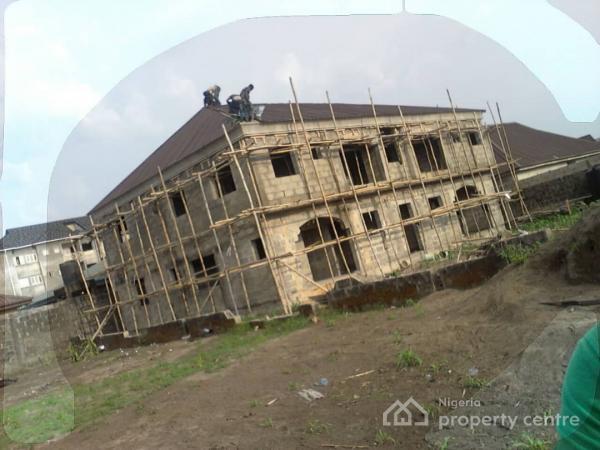Uncompleted 4 Units 2 Bedroom Flat, United Estate, Sangotedo, Ajah, Lagos, Block of Flats for Sale