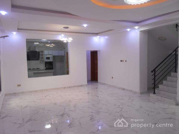 Luxury and Superbly Finished 4 Bedrooms Detached Duplex with Excellent Facilities, Chevron Road, Chevy View Estate, Lekki, Lagos, Detached Duplex for Sale