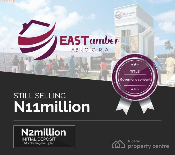 East Amber Estate (with Governors Consent), Abijo, Gra, Sangotedo-ajah, Sangotedo, Ajah, Lagos, Residential Land for Sale