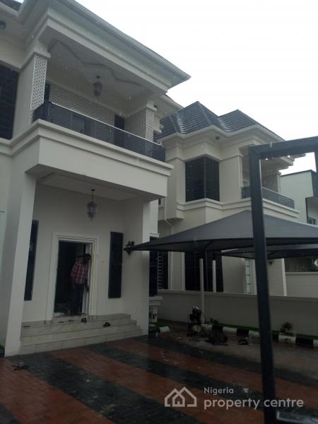 Newly Built and Well Finished with Architectural Designed Most Luxurious 5 Bedroom Detached Duplex, Osapa, Lekki, Lagos, Detached Duplex for Sale
