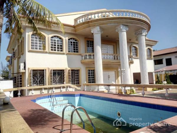 7 Bedroom Mansion Plus Swimming Pool and 5 Room Bq on a Land Area of 1,900m2, Parkview, Ikoyi, Lagos, Detached Duplex for Sale