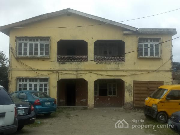 Storey Building on One and Half Plot of Land, Ogunlana, Surulere, Lagos, Detached Duplex for Sale