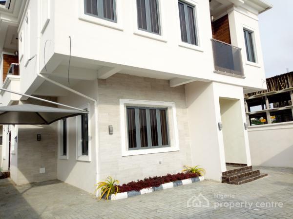 Newly Built 5 Bedroom Detached Duplex Is Available  with a Room Boys Quarters, Chevron Extension, Chevy View Estate, Lekki, Lagos, Detached Duplex for Sale