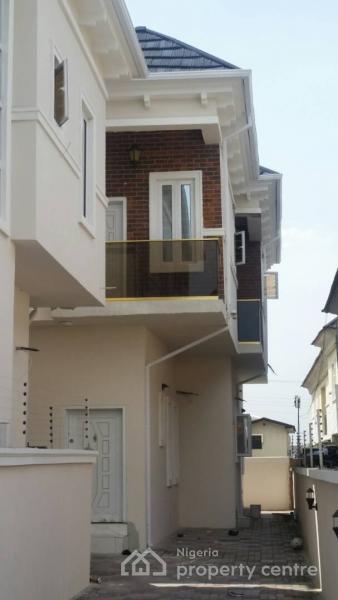 Tastefully Built Four Bedroom Semi Detached Duplex with One Room Boys Quarter, Bera Estate Off Chevron Drive., Chevy View Estate, Lekki, Lagos, Semi-detached Duplex for Sale