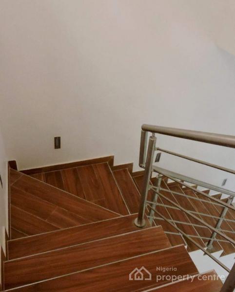 5 Bedroom Fully Detached Duplex with a Room Bq, Behind Shoprite, Osapa, Lekki, Lagos, Detached Duplex for Sale