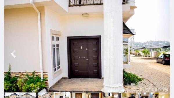 Luxury Brand New 4 Units of 4 Bedroom Terrace Duplexes with a Room Bq Each, Emmanuel Mbaka Drive, Asokoro District, Abuja, Terraced Duplex for Sale