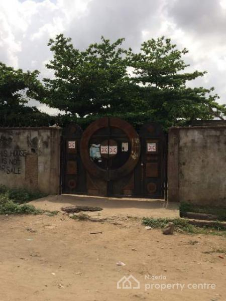 a Corner Piece Measuring Approximately Over 4000sqm of Land with Bungalows, Ire Akari, Isolo, Lagos, Residential Land for Sale