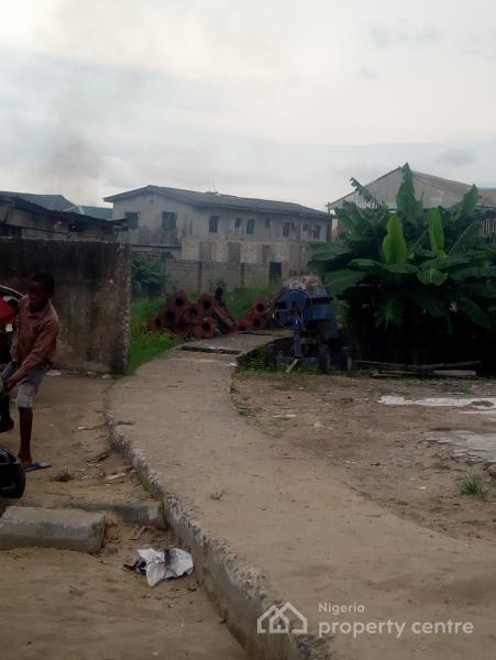 Half Plot of Land, Chivita Side, Ajao Estate, Isolo, Lagos, Residential Land for Sale