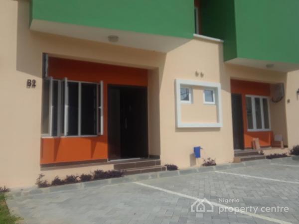 Fully Serviced 3 Bedroom Terrace with Bq, Akinwunmi Ayinla Close, Beside Friends Colony Estate, Agungi, Lekki, Lagos, Terraced Duplex for Rent