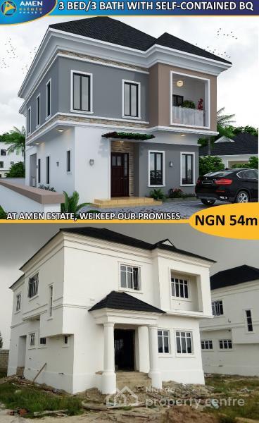 Own a Property in The Prestigious Amen Estate Phase 2, Eleko, Ibeju Lekki, Lagos, Land for Sale