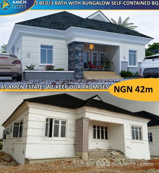 Own a Property in The Prestigious Amen Estate Phase 2 with Gorgeous Environment, Eleko, Ibeju Lekki, Lagos, Land for Sale