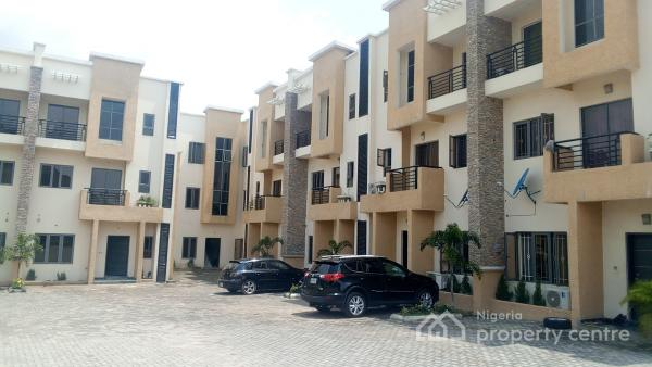 Brand New 4 Bedroom Terraced Duplex with Bq, Lento Alluminium,  Airport Junction, Jabi, Abuja, Terraced Duplex for Sale