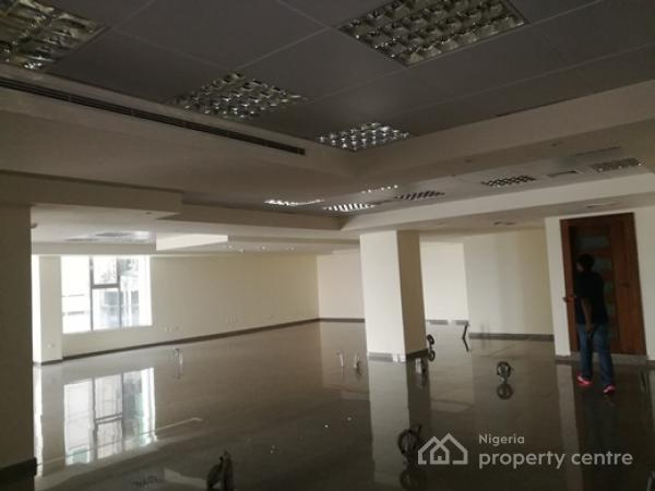 Grade a Prime Open Planned Office, Victoria Island (vi), Lagos, Office Space for Rent