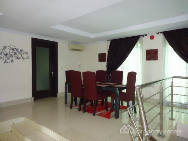Luxury 3 Bedroom Serviced Duplex with Excellent Facilities, Off Kingsway, Old Ikoyi, Ikoyi, Lagos, Semi-detached Duplex for Rent