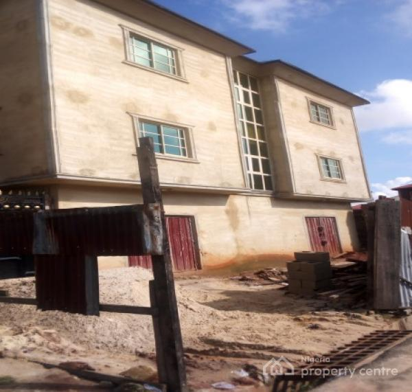 4 Bedroom Flat Code Owr, Along School Road, Umuahia, Abia, Flat for Rent