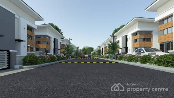 Off-plan Deal. Luxury 4 Bedroom Semi Detached Duplex, All Rooms En Suite Plus 1 Bq, Opposite Lsdpc Housing Estate, Alapere, Ketu, Lagos, Semi-detached Duplex for Sale
