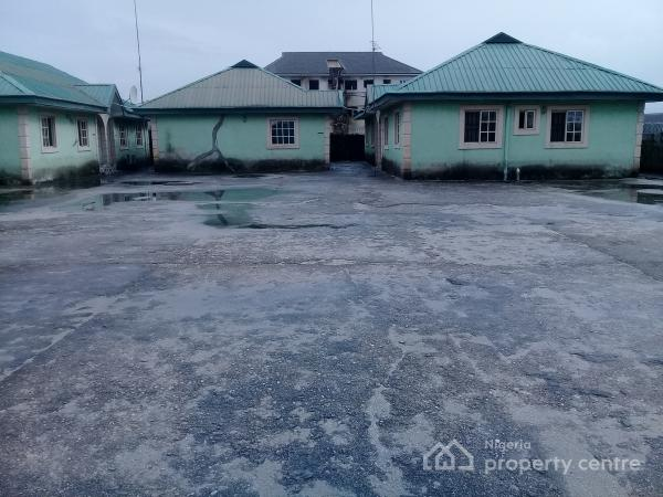 Well Located 5 Units of 2 Bedroom Bungalow, Rupoukwu Pipeline, Port Harcourt, Rivers, Detached Bungalow for Sale