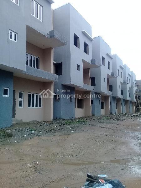 Six Bedroom Terrace with Bq, Wuye, Abuja, Terraced Duplex for Sale