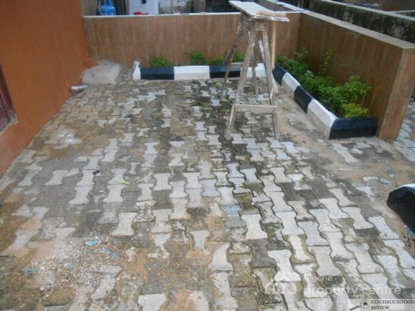 Luxury 3 Bedrooms Terrace in a Serviced Estate, Behind General Paint By Lbs Ajah Lagos, Lekki Gardens Estate, Ajah, Lagos, Semi-detached Duplex for Sale