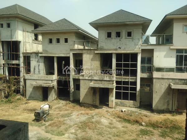8 Units of  Uncompleted Terraced Duplex, Ao4, Asokoro District, Abuja, Terraced Duplex for Sale