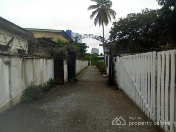 Two Units of Detached Houses on Land Measuring 4,000 Sqms, Adeleke Adedoyin Street, Victoria Island (vi), Lagos, Mixed-use Land for Sale