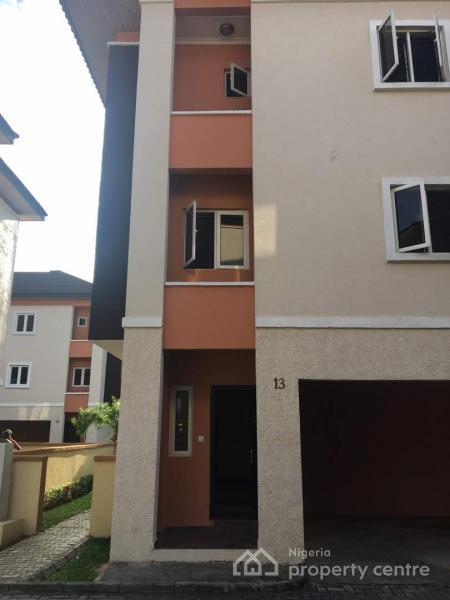 Serviced Four Bedroom Terrace Duplex, Yetville Estate, Kusenla Road, Ikate, Ikate Elegushi, Lekki, Lagos, Terraced Duplex for Rent