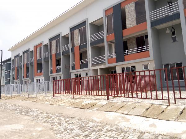 Newly Built Luxury 4 Bedroom Serviced Terraced Duplex with a Room Bq, Fitted Kitchen, Air-conditioner, Etc., Off Hakeem Dickson, Lekki Phase 1, Lekki, Lagos, Terraced Duplex for Sale