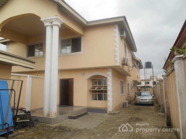 4 Bedroom Semi Detached Duplex with 2 Bedroom Bq, Graceland Estate, Ajah, Lagos, Semi-detached Duplex for Sale