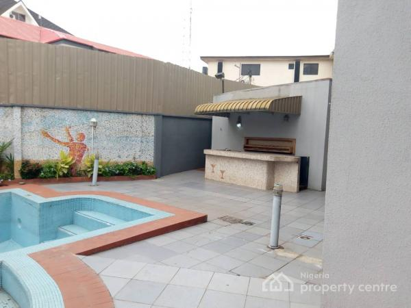 an Architectural Master Piece of 8 Bedroom Detached Duplex and a Storey Building of 3 Rooms, Shonibare Estate, Off Mobolaji Bank Anthony Way, Maryland, Lagos, Detached Duplex for Sale