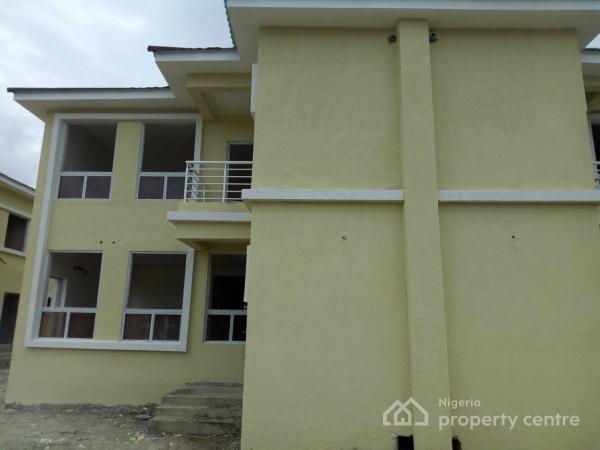 4 Bedroom Semi Detached Duplex (carcass), Napier Gardens Estate, Vgc, Lekki, Lagos, Semi-detached Duplex for Sale