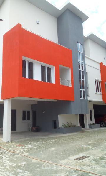Newly Built to Taste 4 Bedroom Duplex with Bq, Ikate Elegushi, Lekki, Lagos, Terraced Duplex for Rent