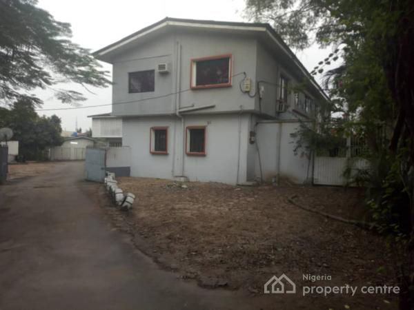 Plot Measuring Almost 1,300 Square Meters on Bush Street, Maryland, Bush Street Leading to Mende/maryland, Ikeja, Lagos, Mixed-use Land for Sale